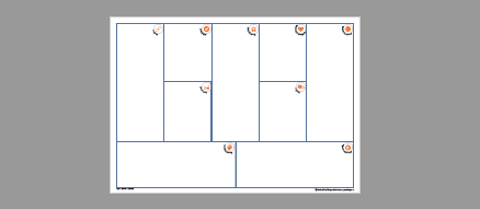 Business Map Canvas Vorlage